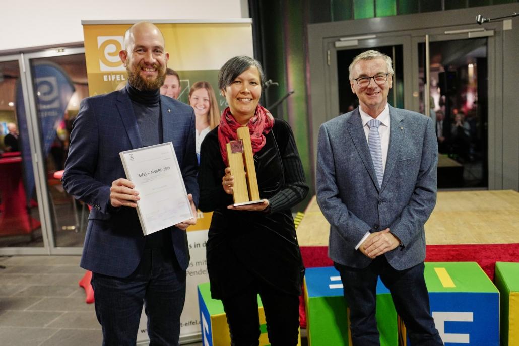 Eifel Award 2019 an den Eifelbildverlag / Kraterleuchten GmbH